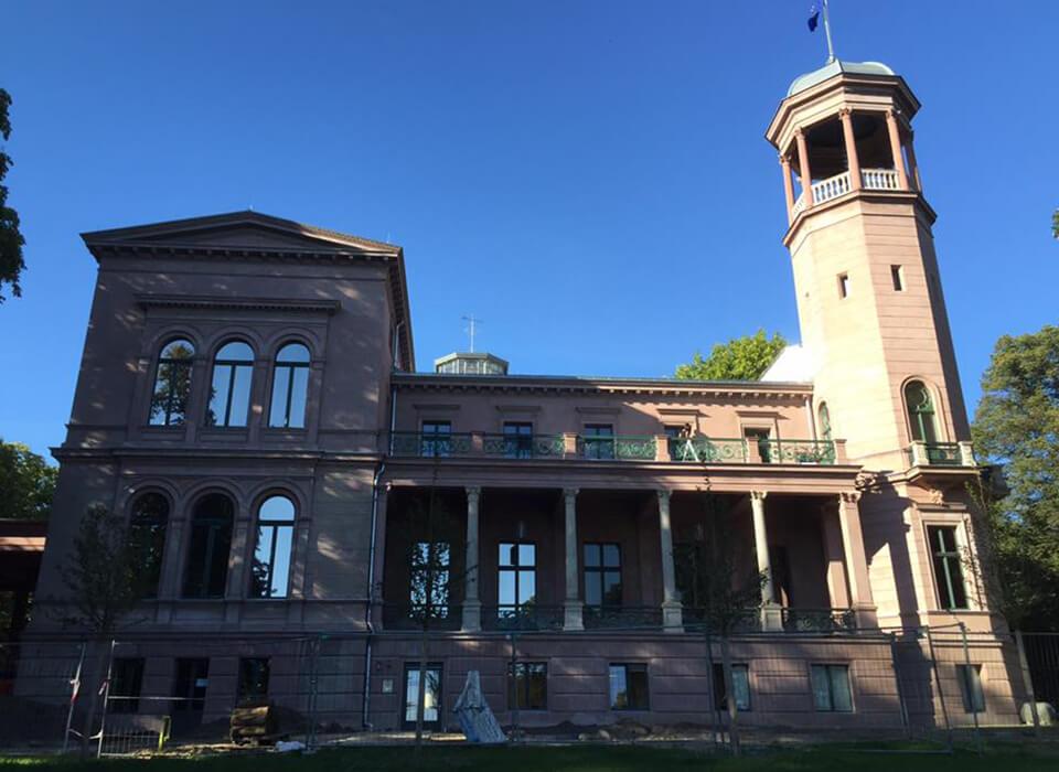 Schloss Biesdorf Hitzeschutzfolien