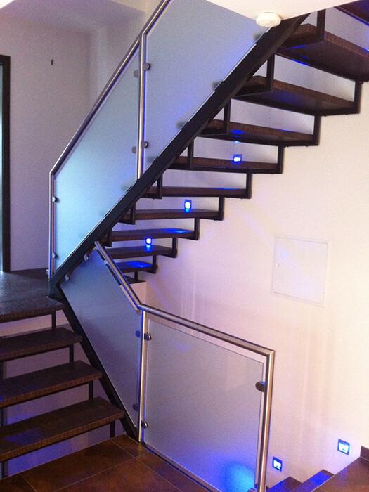 Verglasung Treppengelaender
