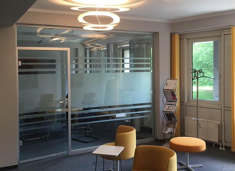 Sichtschutz Konferenzräume