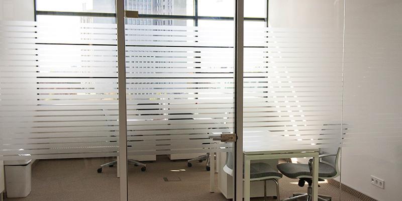 Folientechnik im Berliner Büro