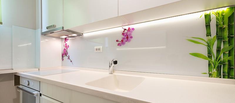 Verglasung Küche